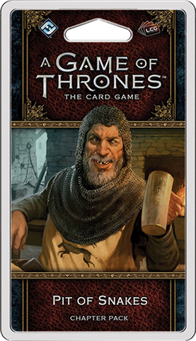 Pre Order A Game of Thrones LCG: Pit of Snakes Chapter Pack