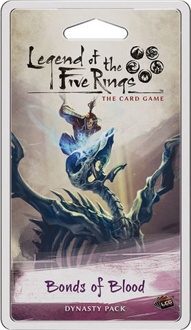 Pre Order Legend of the Five Rings: Bonds of Blood Dynasty Pack