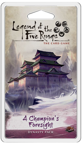 Legend of the Five Rings: A Champion's Foresight Dynasty Pack