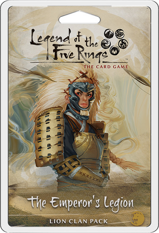 Legend of the Five Rings LCG: The Emperor's Legion - Lion Clan Pack