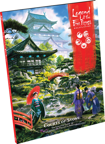 Pre Order The Legend of the Five Rings RPG: Courts of Stone