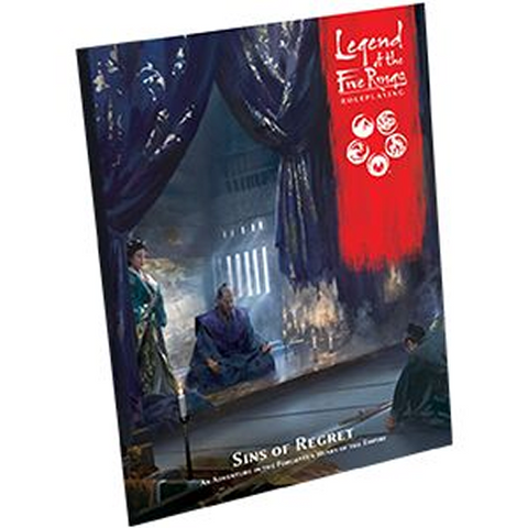 Pre Order The Legend of the Five Rings RPG: Sins of Regret