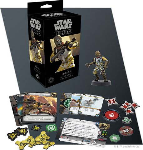 Pre Order Star Wars: Legion: Bossk Operative Expansion