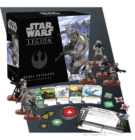 Pre Order Star Wars: Legion Rebel Veterans Unit Expansion