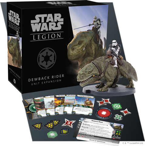 Star Wars: Legion Dewback Rider Unit Expansion
