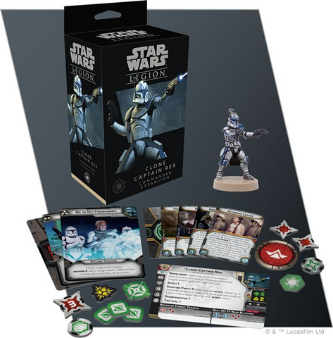 Star Wars: Legion: Clone Captain Rex Commander Expansion