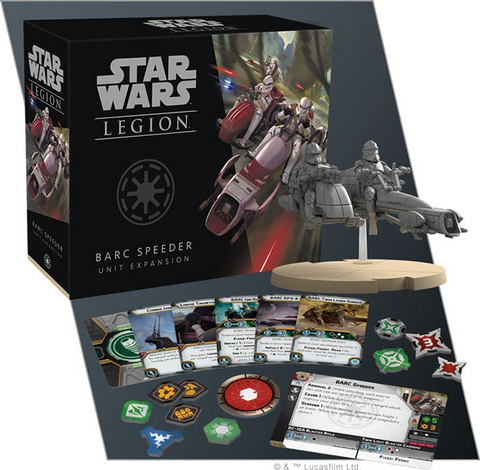 Star Wars: Legion BARC Speeder Unit Expansion