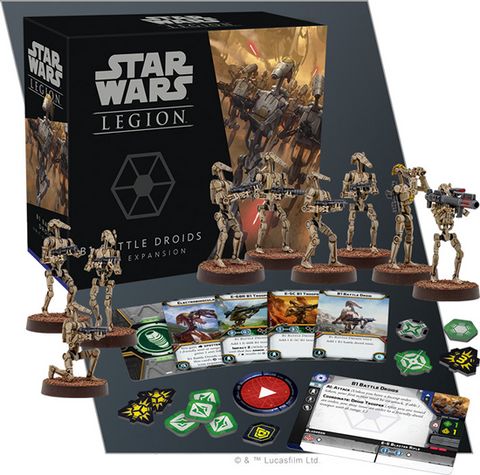 Star Wars: Legion B1 Battle Droids Unit Expansion