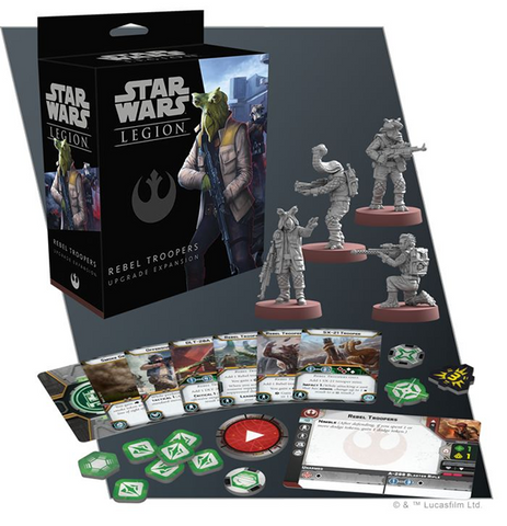Star Wars: Legion Rebel Troopers Upgrade Expansion