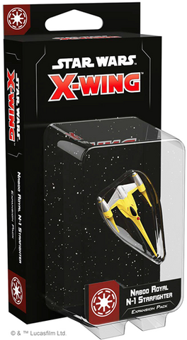 X-Wing Second Edition: Naboo Royal N-1 Starfighter Expansion Pack