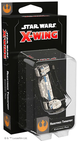 Pre Order X-Wing Second Edition: Resistance Transport Expansion Pack