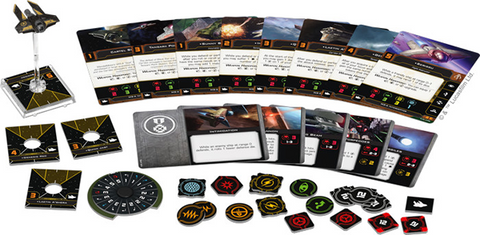 Pre Order X-Wing Second Edition: M3-A Interceptor Expansion Pack