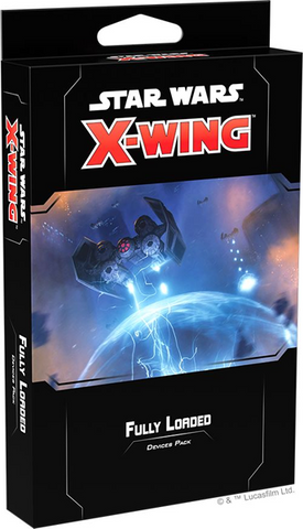Pre Order X-Wing Second Edition: Fully Loaded Devices Pack