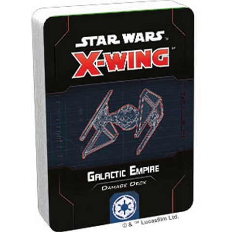 Pre Order X-Wing Second Edition: Galactic Empire Damage Deck