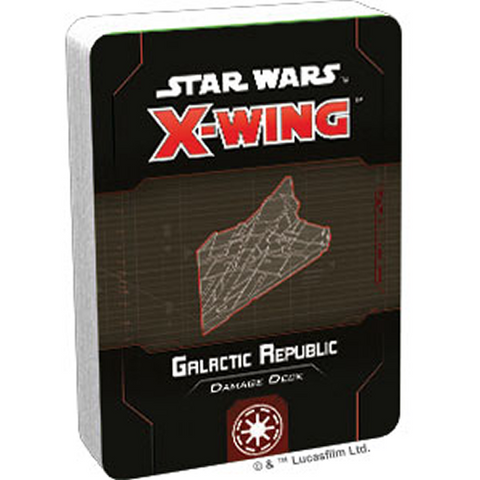 Pre Order X-Wing Second Edition: Galactic Republic Damage Deck