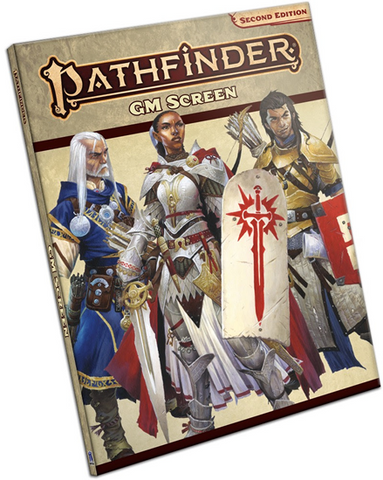 Pathfinder 2nd Edition: GM Screen