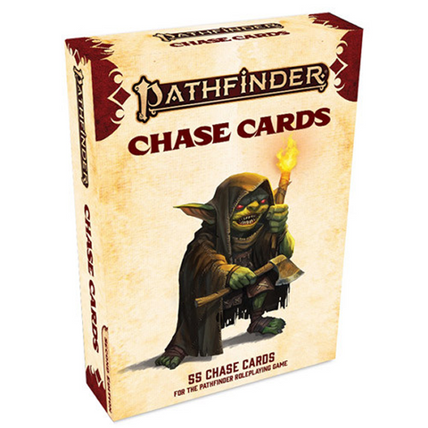 Pre Order Pathfinder 2E RPG: Chase Cards Deck