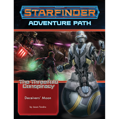 Pre Order Starfinder RPG: Adventure Path #27 Deceivers' Moon (The Threefold Conspiracy 3 of 6)