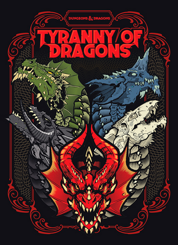 Dungeons & Dragons: Tyranny of Dragons Alternate Cover (Fifth Edition)