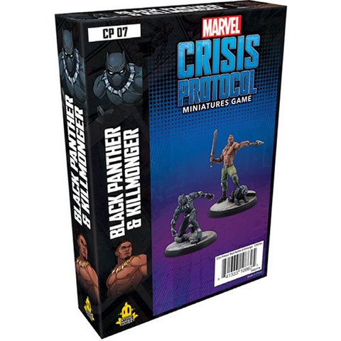 Pre Order Marvel: Crisis Protocol - Black Panther & Killmonger Character Pack