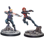 Marvel: Crisis Protocol - Hawkeye & Black Widow Character Pack