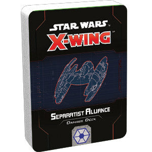 Pre Order X-Wing Second Edition: Separatist Alliance Damage Deck