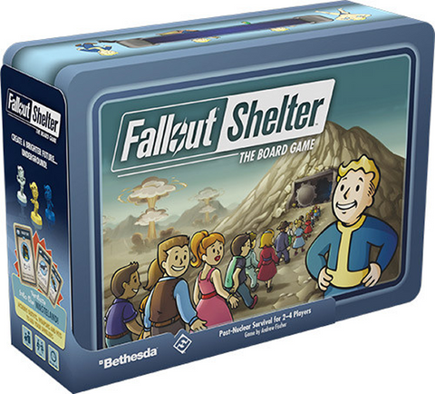 Pre Order Fallout Shelter: The Board Game