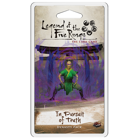 Legend of the Five Rings: In Pursuit of Truth Dynasty Pack