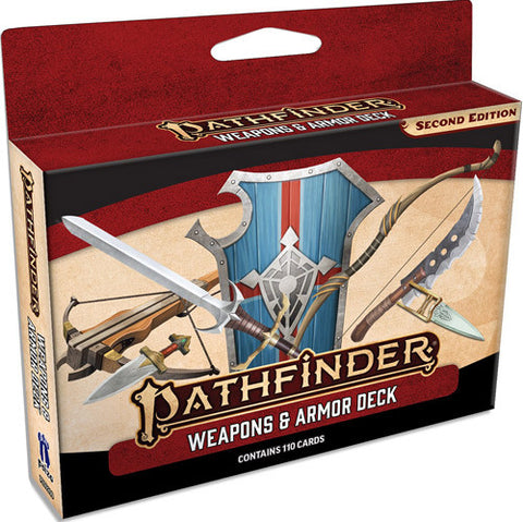 Pathfinder 2E RPG: Weapons & Armor Deck
