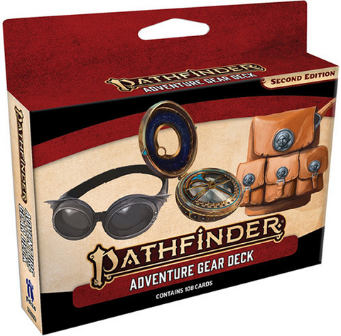 Pathfinder 2E RPG: Adventure Gear Deck