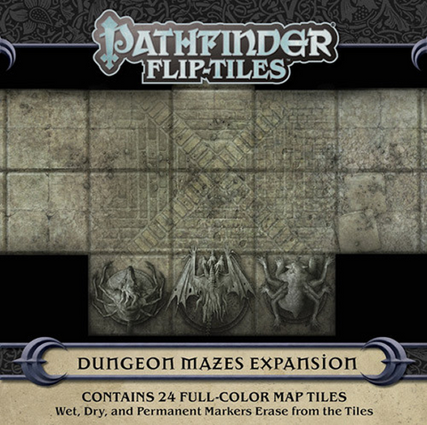 Pre Order Pathfinder RPG: Flip-Tiles - Dungeon Mazes Expansion