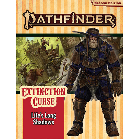 Pre Order Pathfinder 2E RPG: Adventure Path #153 Life's Long Shadows (Extinction Curse 3 of 6)