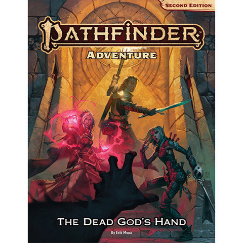Pre Order Pathfinder 2E RPG: Adventure Path - The Dead God's Hand