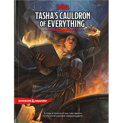 D&D 5E RPG: Tasha's Cauldron of Everything (Hardcover)