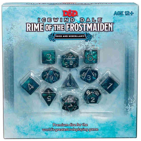D&D 5E RPG: Icewind Dale - Rime of the Frostmaiden Dice & Miscellany