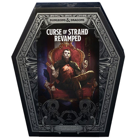 D&D 5E RPG: Curse of Strahd Revamped (Box Set)