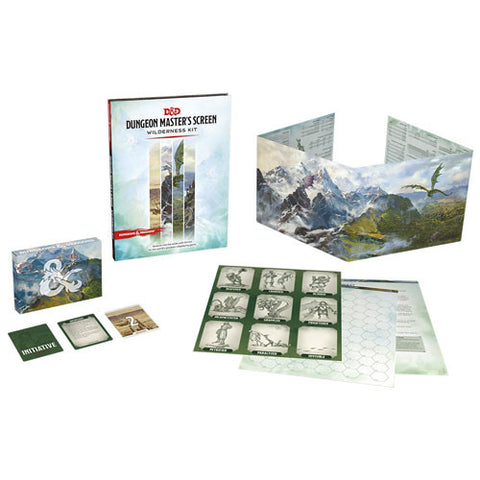 D&D 5E RPG: Dungeon Master's Screen Wilderness Kit