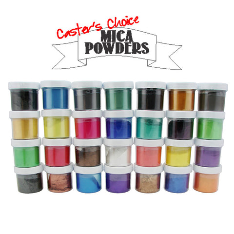 Casters Choice Mica Powders