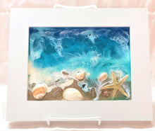 Load image into Gallery viewer, Beach Scene Resin Art