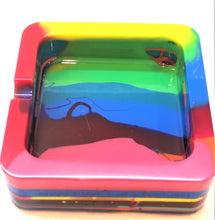 Load image into Gallery viewer, Square Tie Dye Trinket/Ashtray
