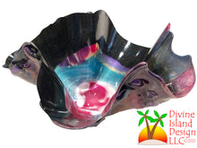 Load image into Gallery viewer, Resin Free Form Bowl - Small Multi Color