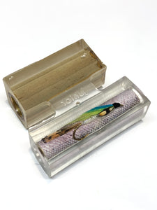 Fly - Blue and Yellow  / Steelhead Salmon Clear Cast - Jr Series