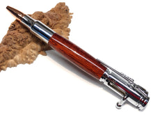 Load image into Gallery viewer, Bolt Action Ballpoint / Chrome - Wood / African Bloodwood