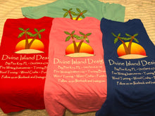 Load image into Gallery viewer, Divine Island Design T-shirt