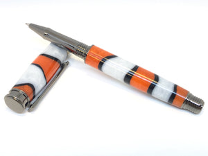 Leveche Rollerball / Gunmetal - Resin / Clownfish
