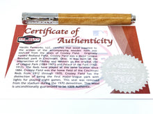 Load image into Gallery viewer, Zen Rollerball / Chrome - Wood / Crosley Field (Cincinnati Reds) w/COA