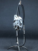 Load image into Gallery viewer, Large Seashell - Black Cord Necklace