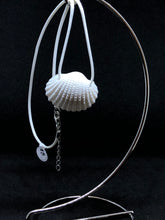 Load image into Gallery viewer, Medium Seashell - White Cord Necklace