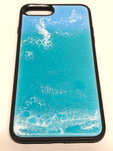 "iPhone 7/8 Plus Phone Case - ""Ocean"" Resin #2"