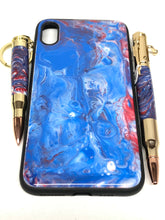 "Load image into Gallery viewer, iPhone XS Max Phone Case - ""Patriot"" Resin"